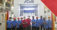 A.Celli starts up the E-WIND® T100 rewinder supplied to Berli Jucker Cellox Co., Ltd